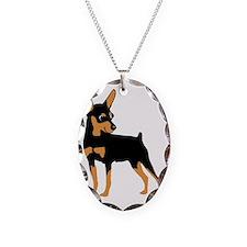 Cartoon Miniature Pinscher 1 Necklace