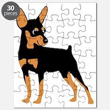 Cartoon Miniature Pinscher 1 Puzzle