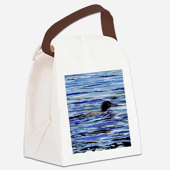 loon Canvas Lunch Bag
