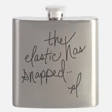 Cycling Quotes - The Elastic Has Snapped Flask