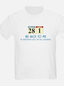 Be Nice To Me Kids T-Shirt