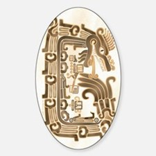 Xochicalco Feathered Serpent Decal