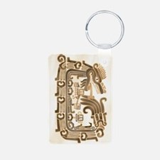 Xochicalco Feathered Serpe Keychains