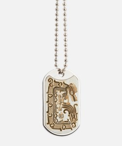 Xochicalco Feathered Serpent Dog Tags