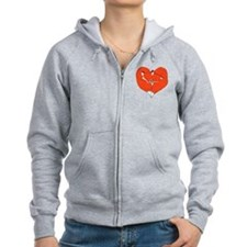 Foxes Mate for Life Zip Hoodie