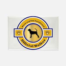 Coonhound Walker Rectangle Magnet (10 pack)