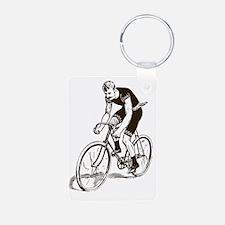 Retro Cyclist Keychains