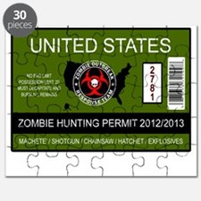 zombie hunting permit Puzzle