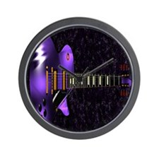 Dig The Purple Wall Clock
