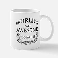 World's Most Awesome Godfather Mug