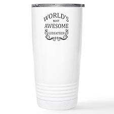 World's Most Awesome Godfather Travel Mug
