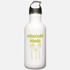 oncology nurse daisies Water Bottle