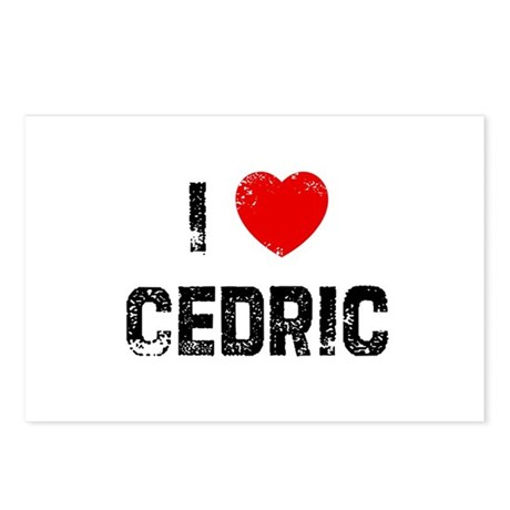 I * Cedric Postcards (Package of 8)