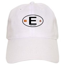Spain Euro-style Country Code Baseball Cap