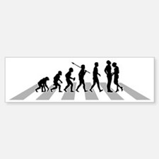 Manhood-Check-02-B Sticker (Bumper)