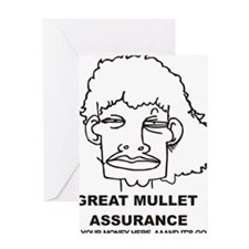 Great Mullet Assurance Greeting Card