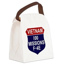 F-4E Phantom II Canvas Lunch Bag