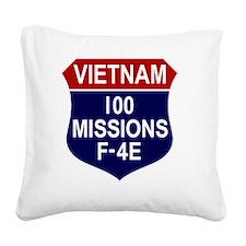 F-4E Phantom II Square Canvas Pillow