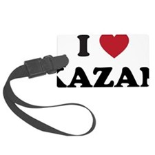 I Love Kazan Luggage Tag