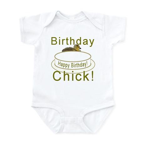 Birthday Chick! Infant Bodysuit
