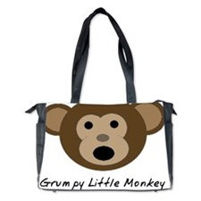 Grumpy Little Monkey Diaper Bag