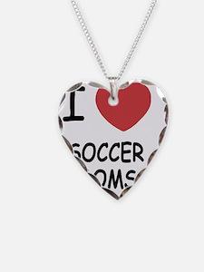 I heart soccer moms Necklace