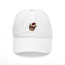 Christmas Yorkshire Terrier dog Baseball Baseball Cap