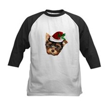 Christmas Yorkshire Terrier dog Baseball Jersey