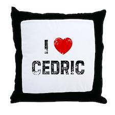 I * Cedric Throw Pillow