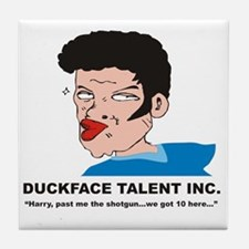Duckface Talent Inc. Tile Coaster