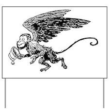 Winged Monkey Yard Sign