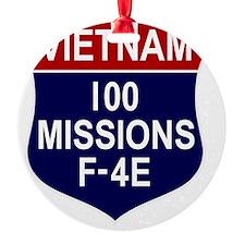 F-4E Phantom II Ornament