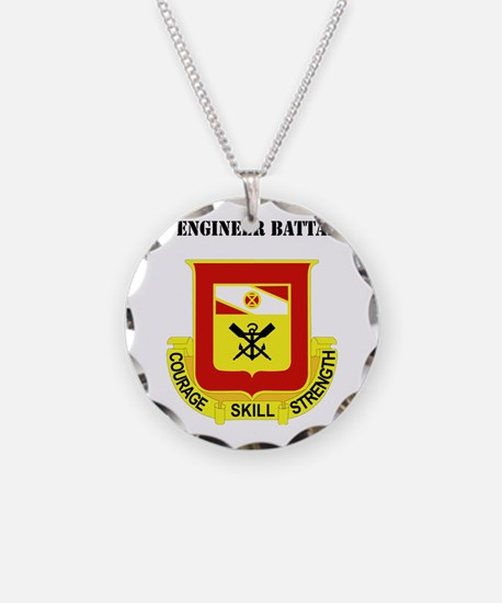 DUI - 5th Engineer Battalion Necklace