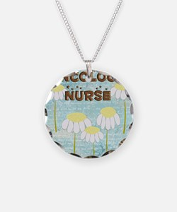 Oncology Nurse Daisies Elect Necklace