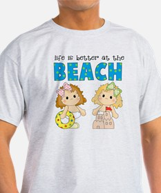 Better at the Beach Girls T-Shirt
