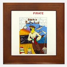 Ode to a Pirate Lad Framed Tile