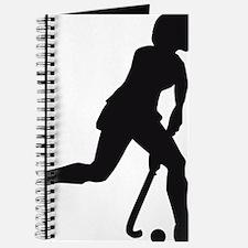 female hockey player Journal