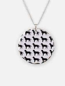 Labrador Retriever Silhouett Necklace