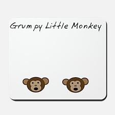 Grumpy Little Monkey Mousepad