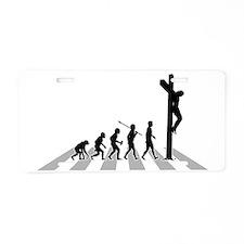 Jesus-02-B Aluminum License Plate