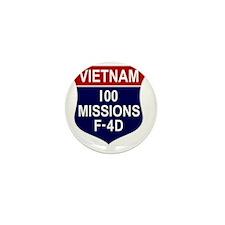 F-4D Phantom II Mini Button