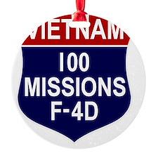F-4D Phantom II Ornament
