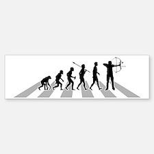 Archery-B Bumper Bumper Sticker