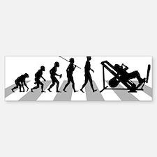Gym-Workout Bumper Bumper Sticker
