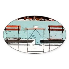 Seaside Table for Two Decal