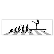 Gymnastic---Balance-Beam Bumper Sticker