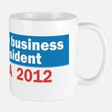 I Built My Business Mr. President Mug