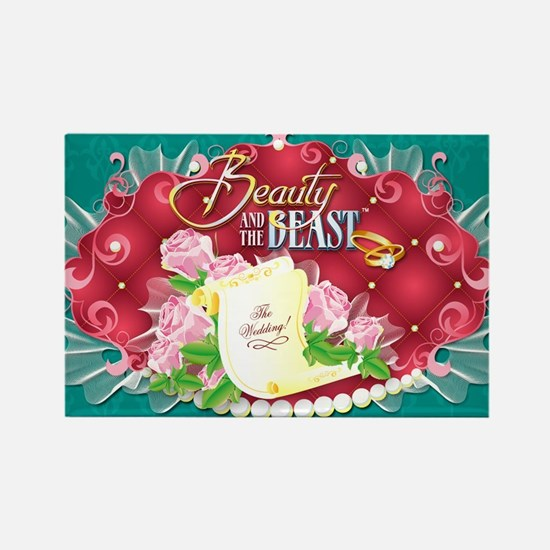 Beauty And The Beast™ Rectangle Magnet