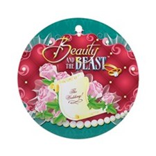 Beauty And The Beast™ Round Ornament