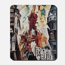 Robert Delaunay Eiffel Tower Mousepad